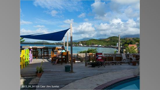 Casa Libre Puerto Rico: Pool deck