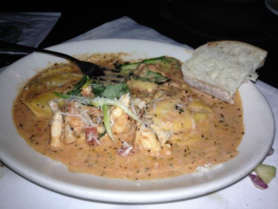 Virgilio's: Seafood Ravioli