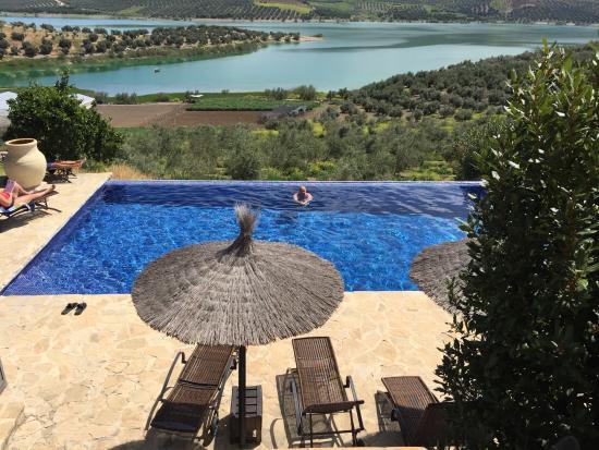 Casa Rural El Olivar: Uitzicht vanaf het terras.