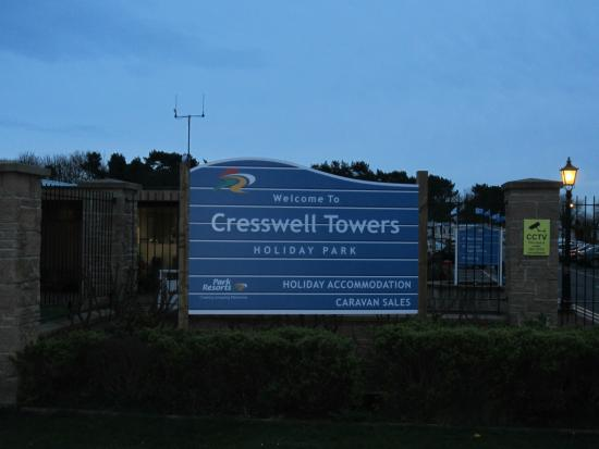 Cresswell Towers Holiday Park - Park Resorts: Entrance