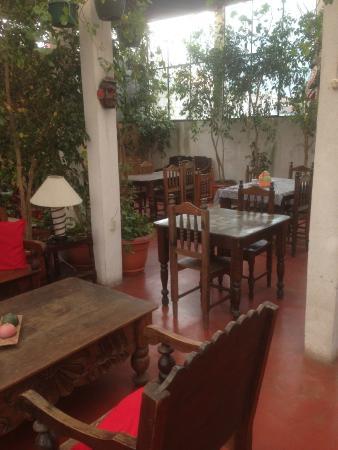 Casa San Bartolome: breakfast area