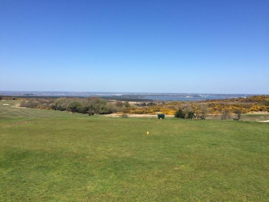 Isle of Purbeck, UK: From the 5th tee!