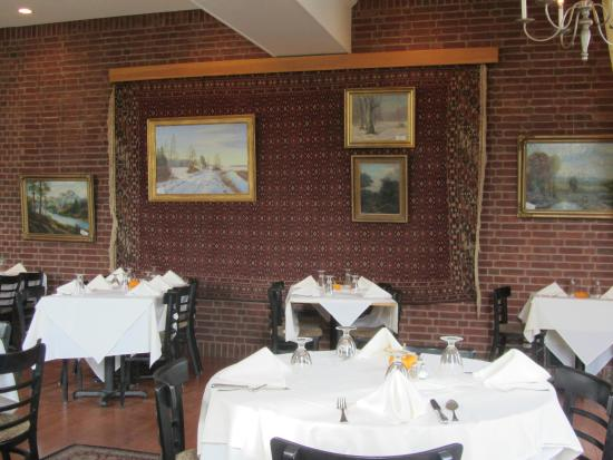 Newport, Nueva Hampshire: Interior do restaurante