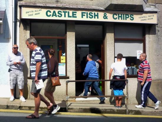 Castle Fish & Chips, Criccieth