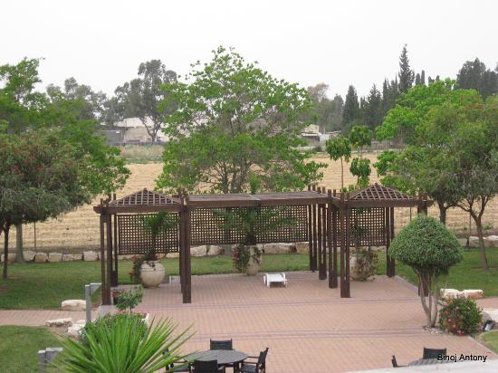 Nof Tavor Hotel: view from room zoomed