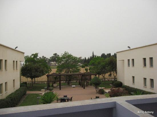Nof Tavor Hotel: view from room