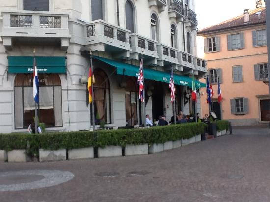 Ristorante Miralago: Restaurant front