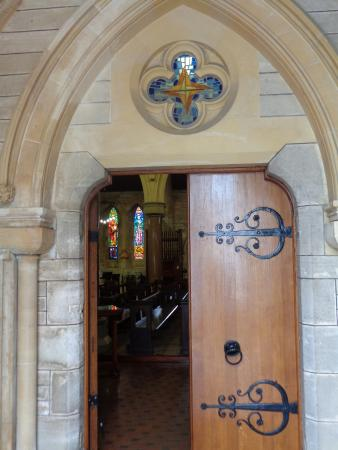 Cathedral of the Most Holy Trinity (Bermuda Cathedral): Doors to Cathedral of the Most Holy Trinity Church