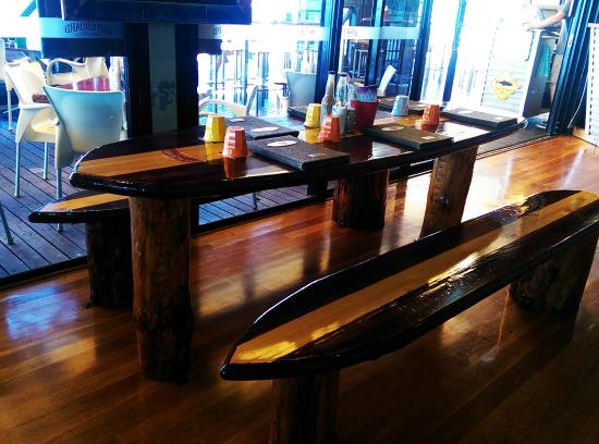 Seating modelled on surfboards picture of longboard bar and grill longboard bar and grill seating modelled on surfboards watchthetrailerfo