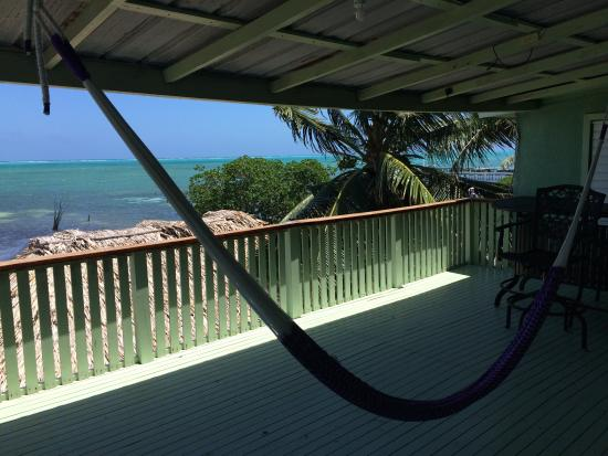 Barefoot Caribe Hotel: view from or balcony