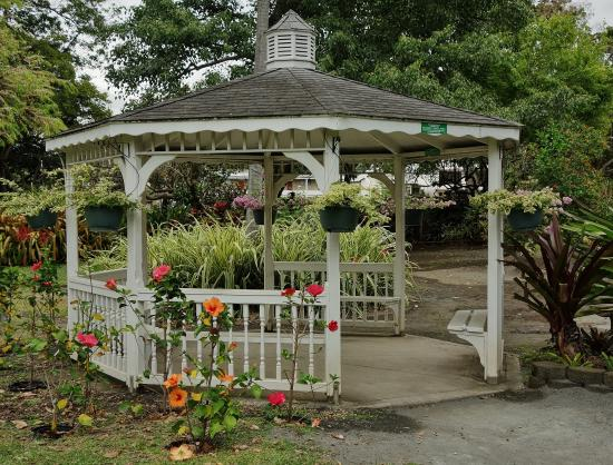 Gazebo picture of foster botanical gardens honolulu tripadvisor for Foster botanical garden honolulu