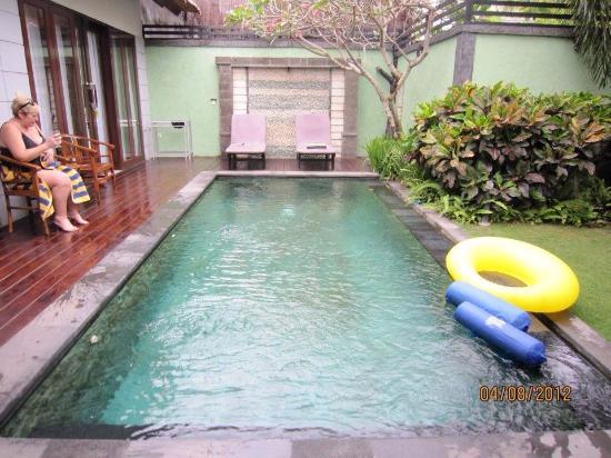 Abimanyu Villas: The pool