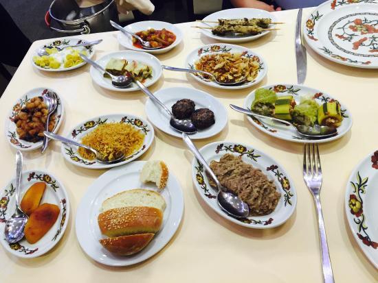 Le Restaurant Armenien : Это основные блюда