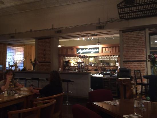 PJ Berry's : The bar area.
