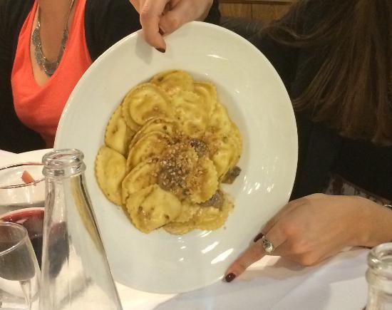 Granollers, Spagna: Así es como quedo los platos de pasta después de esperar más de 45' los platos restantes.