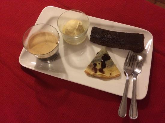 L'Entrecote cafe de Paris: Notre Café gourmand