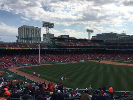 Photo of Tourist Attraction Fenway Park at 4 Yawkey Way, Boston, MA 02215, United States