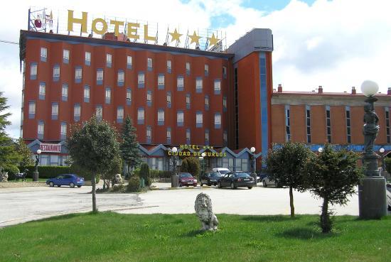 Hotel Ciudad de Burgos: Fachada del Hotel