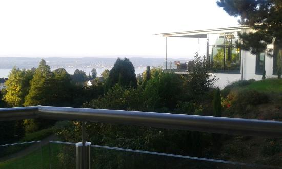 Parkhotel St. Leonhard: Vista da varanda do quarto