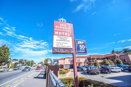 162 Kings of Riccarton Motel: Motel