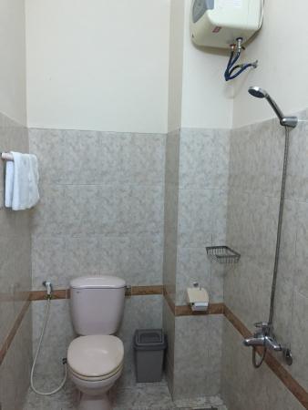 Dai Long Hotel: トイレとシャワー