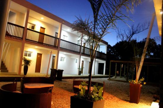 Zen Boutique Apart Hotel: Estufa al aire libre - Patio