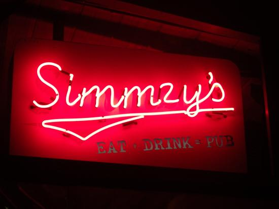 Simmzy's: 看板