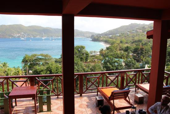 The Sweet Retreat : The view from our breakfast table
