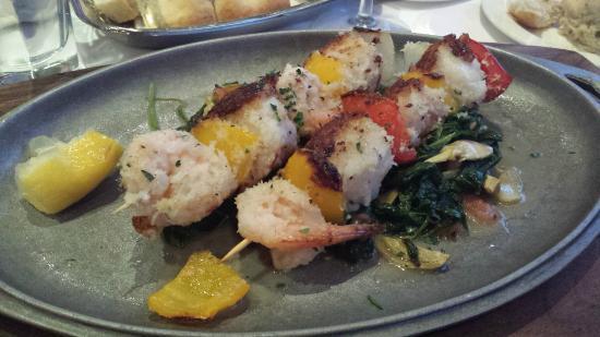 Il Fornaio: Grilled shrimp
