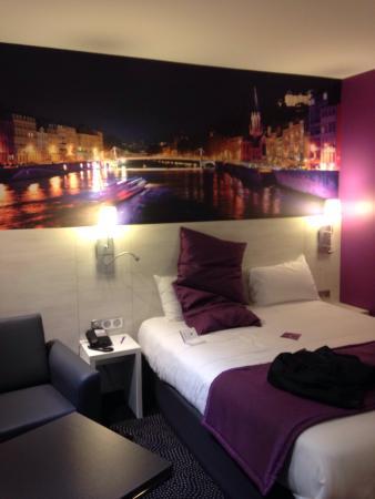 Mercure Lyon Charpennes Hotel: Quarto onde fiquei