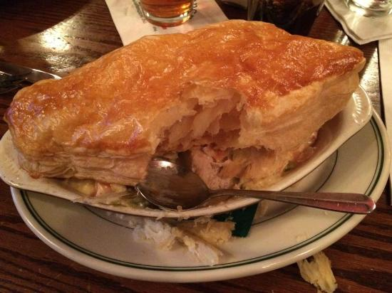 The Dubliner: The chicken pot pie- incredibly fluffy, hot, and delicious!