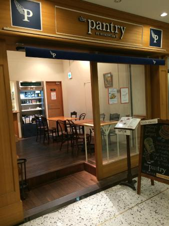 The Pantry Marunouchi: The entrance to The Pantry