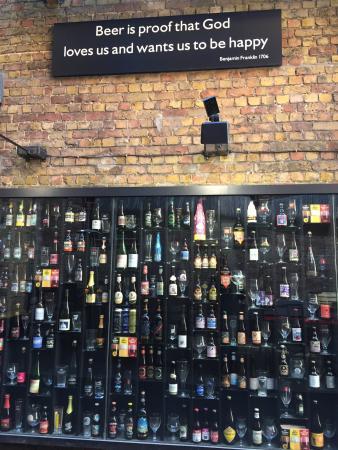 Photo of Nightclub 2be Beer Wall at Wollestraat 53, Bruges 8000, Belgium
