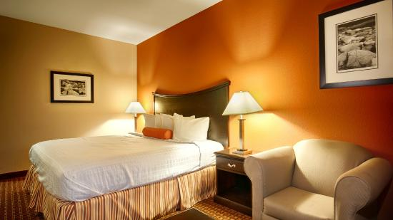 Best Western Plus Circle Inn: King Size Bed