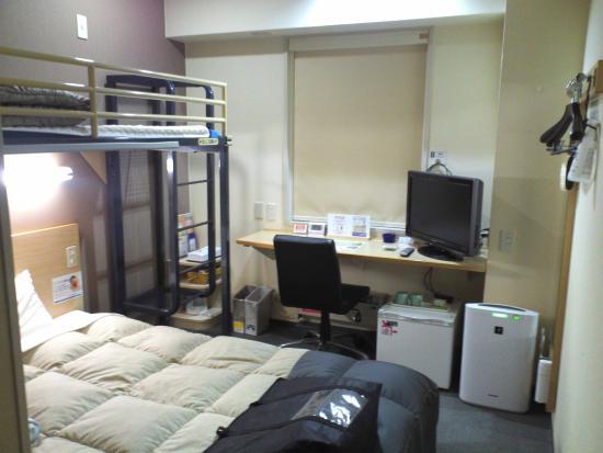 Super Hotel Kitami : 部屋1