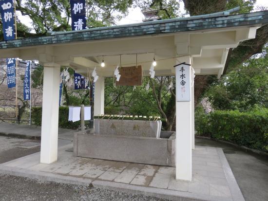 Kato Shrine : 手水舎