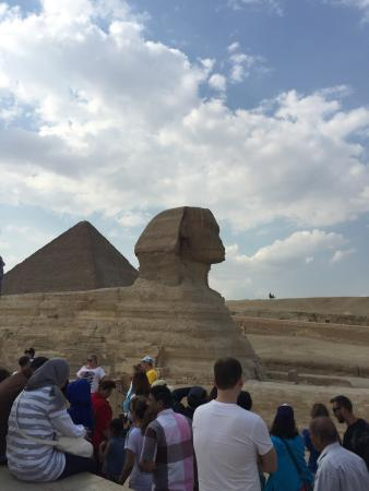 Photo of Historic Site Great Sphinx at Al-haram, Giza, Egypt