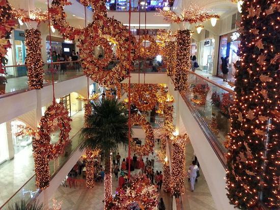 power plant mall christmas decor