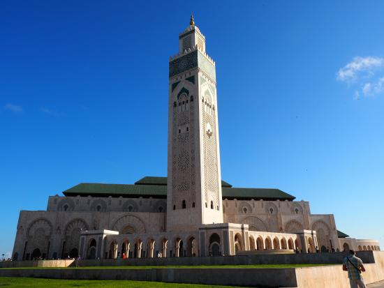 Hassan II-moskéen: Exterior of the Mosque