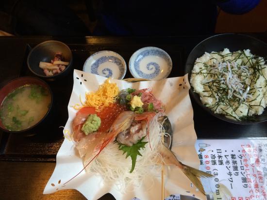 Suruganoajidonmusu: 海鮮丼