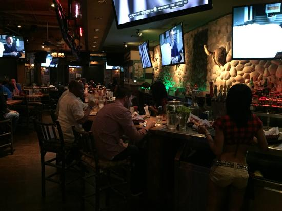 Upstairs Bar At Twin Peaks Buckhead Atlanta Picture Of