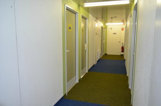 Ibis Budget Honfleur: couloir 4ième étage