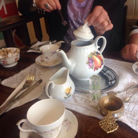 Photo of Cafe Old Time Vintage Tea Rooms at 6-8 Saville Row, Bath BA1 2QP, United Kingdom