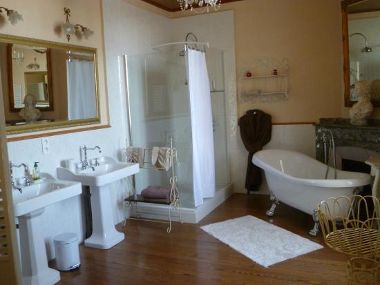 Chateau Coquelicot: salle de bain