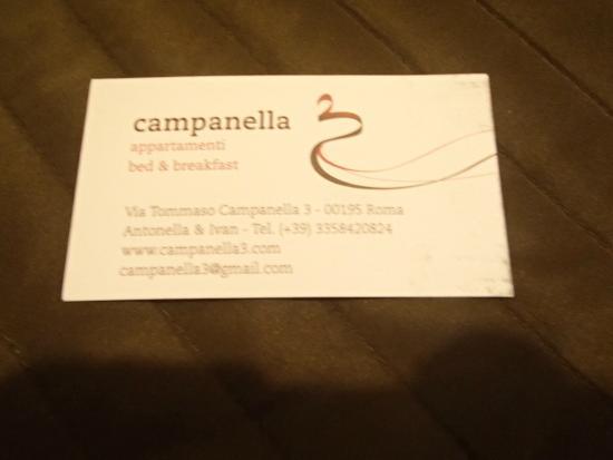 Campanella 3: Card