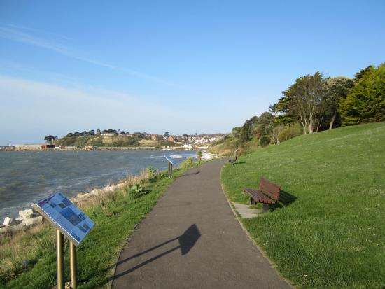 Weymouth, UK: The lower Gardens area