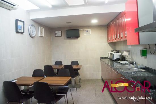 Hostal Alogar: Comedor / Cocina
