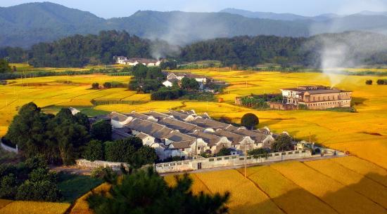 Guangdong, Chiny: hakka village