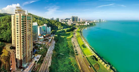 Guangdong, Chiny: zhuhai lover road