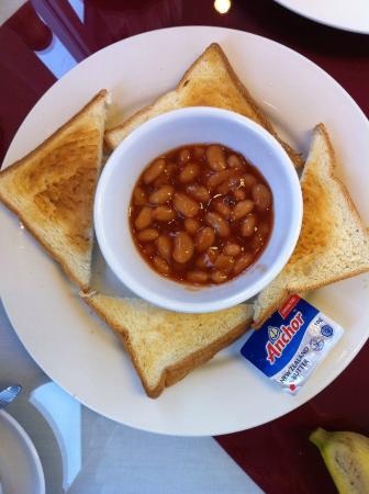 Lucky 3 Hotel : Set breakfast